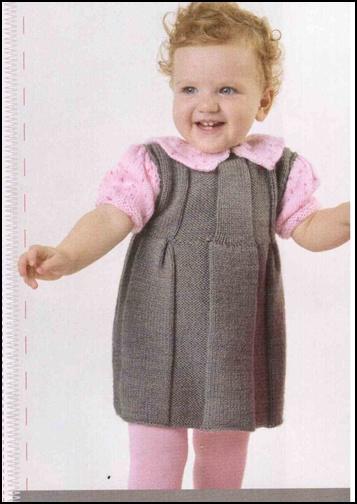 1 Yaş Kız Bebek Elbise Modeli Yapılışı Videolu Anlatımlı