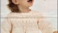 Üç Düğmeli Kız Çocuk Hırkası Yapılışı