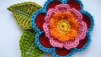 Üç Katlı Çiçek Motifi Yapmak