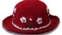 Çiçekli Tığ İşi Şapka (Anlatımlı)