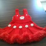 Örgü Kızı Çocuk Elbise Tarifi