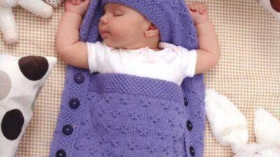 Örgü Bebek Uyku Tulumu Tarifi