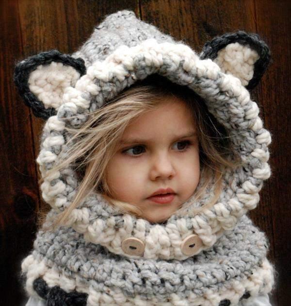 örgü kulaklı şapka