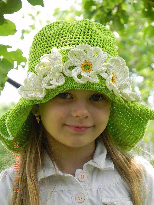 Yeşil kız şapkası