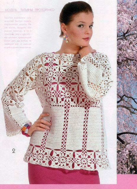beyaz motifli blluz