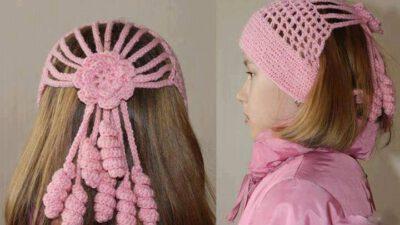 Pembe Kız şapkası Yapılışı