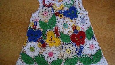 Yazlık Kızlar için Çiçekli Elbise Tarifi