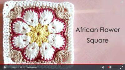 Harika Çiçekli Battaniye Motifi