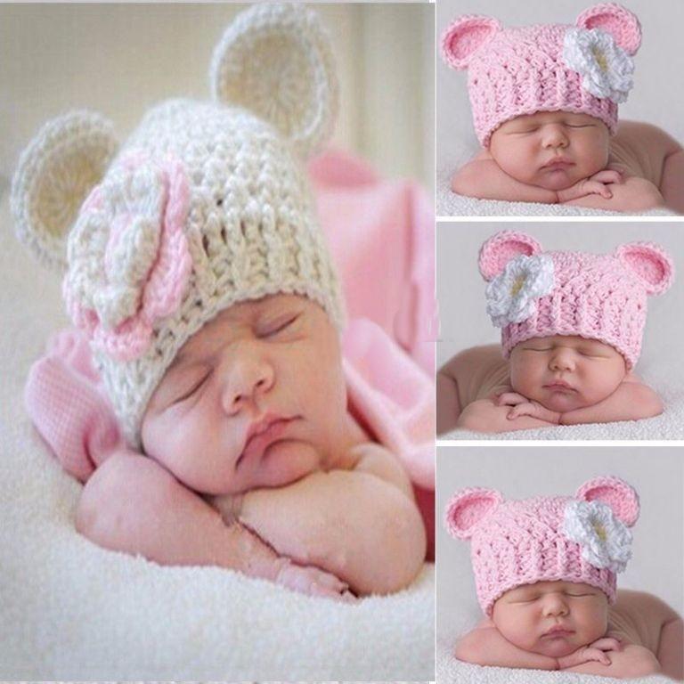 ayı kulaklı bebek şapka