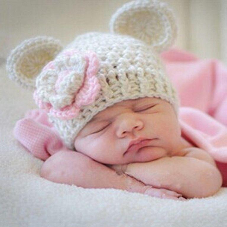 ayı kulaklı bej şapka
