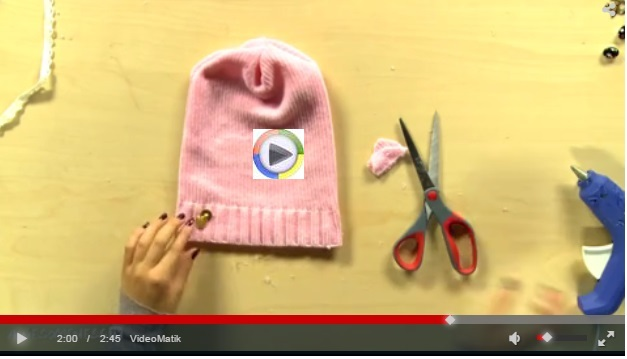 Eski Yün Kazağınızdan Şık Bir Şapka Yapabilirsiniz 99