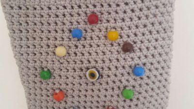Makrome ipinden çanta yapımı