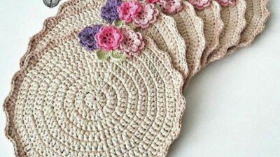 Çiçek süslemeli supla yapımı