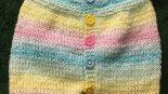 Yakadan başlama kısa kollu kısa paçalı renkli tulum slopet yapımı 1 yaş