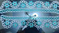 Plastik Halkaların Üzerine Yapılan Çiçek Süslemeli Kolay Havlu Kenarı Yapımı