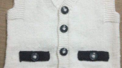 Önler Üçgen Cep Kapağı Süslemeli Kolay  Damat / Ata / Efe Yeleği Yapımı 2 .3 yaş