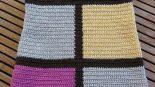 Tığ İşi Renkli Yuvarlak Yakalı Kolay Çocuk Jile Yapımı. 2 .3 yaş