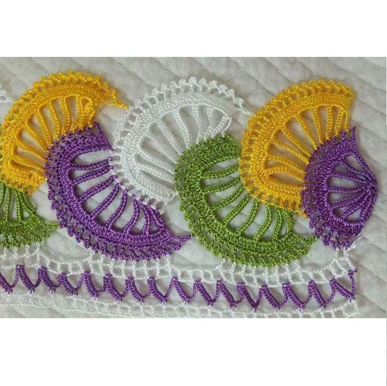 Motif Olarak Örülen Renkli Kolay Hanım Dilendi Bey Beğendi Örneğinde Çocuk Battaniye Yapımı
