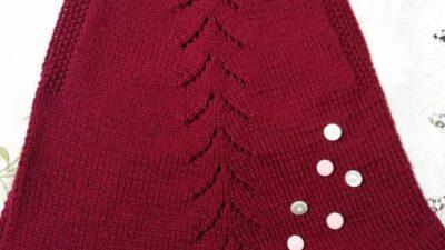 Ajur Ve Pirinç  Örnekli  Pileli Çocuk Jilesi / Elbisesi Yapımı. 2 .3 yaş