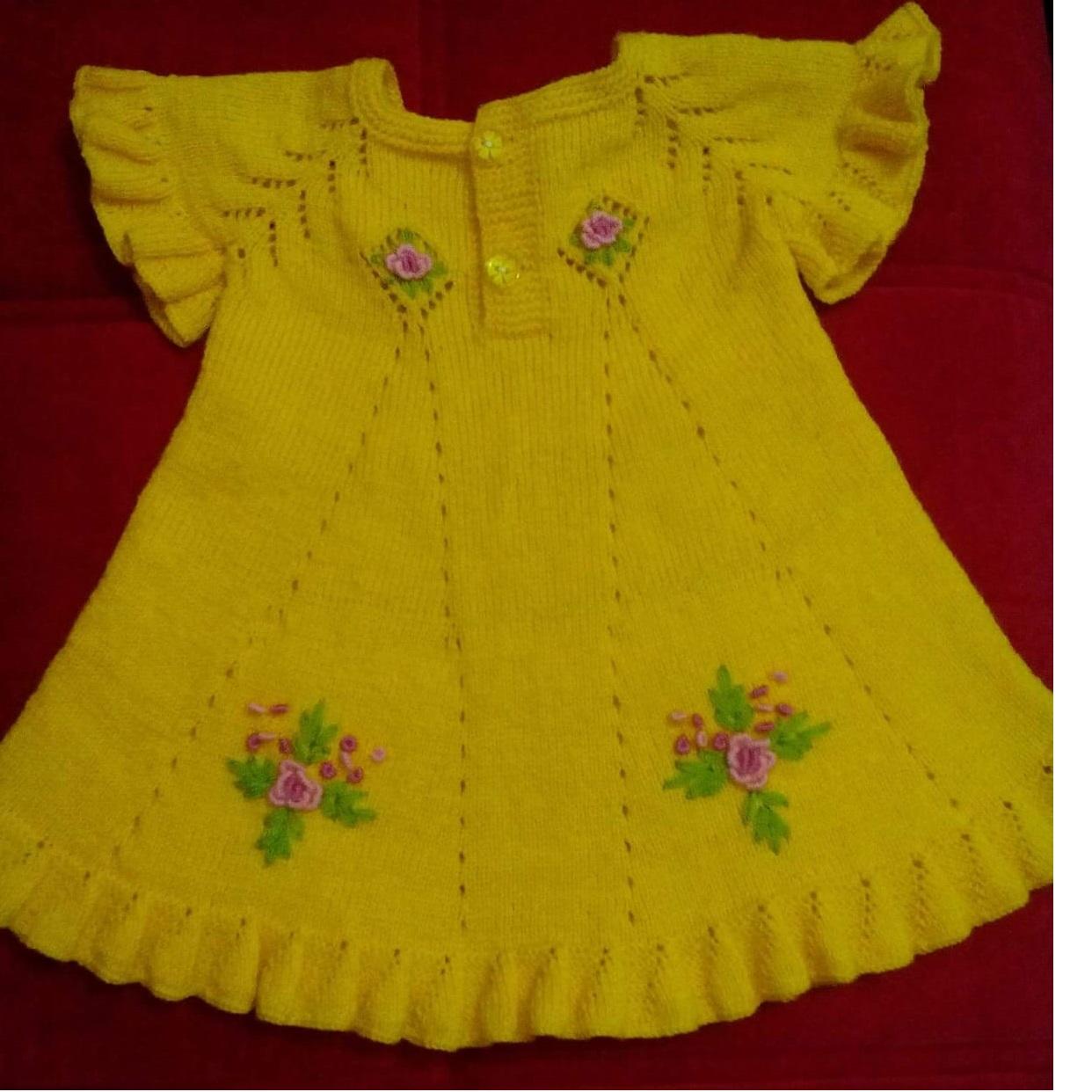 Açık sarı renkli desenli yakalı bolero modeli