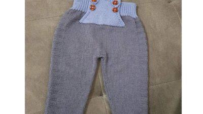 Askılı Çocuk Pantolonu Nasıl Örülür ? 1 .2 yaş