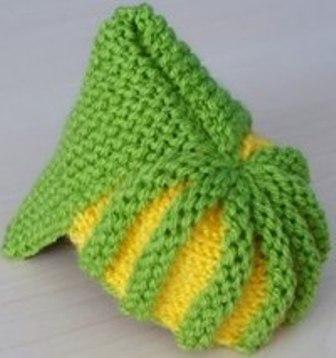 3- karpuz dilimli bebek paitği yapılışı