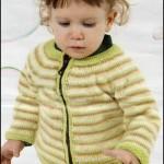 Fermuarlı Bebek Ceket Modeli