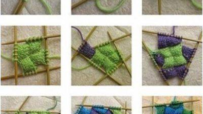 Şiş İle Örebileceğiniz Rengarenk Battaniye ve Çorap