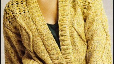 Hardal Tonlarda Bayan Ceket Yapılışı
