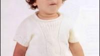 Kısa Kollu Bebek Bluzu