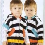 Kısa Kollu-Uzun Kollu Örgü Çocuk Bluzları