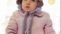 Kız Çocuk Ponponlu Bere Örneği