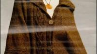 Kahverengi, Şal Yaka Bayan Ceket Yapılışı