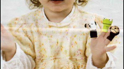 Karpuz Kollu Bebek Elbisesi Yapılışı
