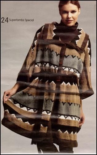 Jakarlı Örgü Bayan Kazak Modeli