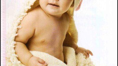 Kulaklı ve Kapüşonlu Bebek Battaniyesi