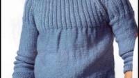 Lastik Örgü İle Şık Erkek Bluzu Yapılışı