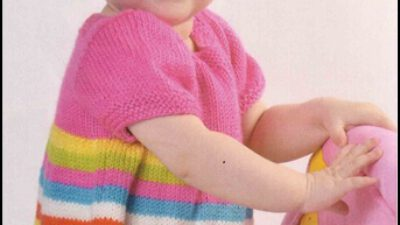 Rengarenk Kısa Kollu Bebek Bluzu