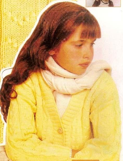 Sarı Kız Çocuk Hırka Örneği Kazağı Modeli örnekleri tarifi yapılışı anlatımlı kolay nako alize derya baykal By admin 7