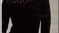 Siyah Desenli Bayan Bluzu Yapılışı