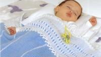 İki Renk İle Bebek Battaniyesi Yapılışı