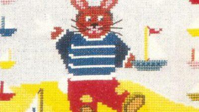 Desenli Renkli Bebek Kazağı