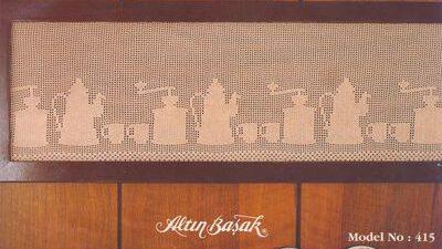 Çaydanlık Desenli Pano
