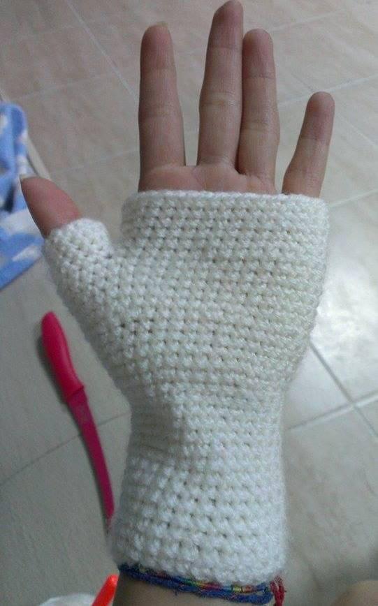 eldivenin bitmiş hali