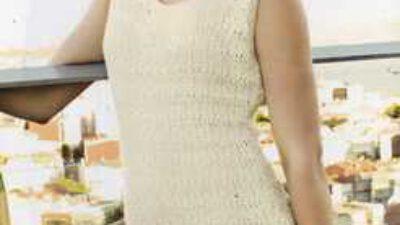 Etek Ucu Fırfırlı Kumaş Süslemeli Mni Elbise