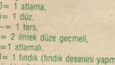 Fındık Desenli Hırka