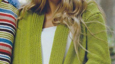 Fıstık Yeşili Bayan Hırka