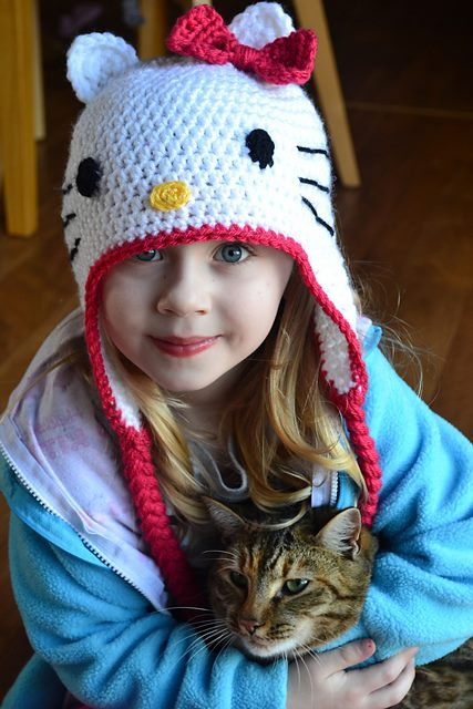 hello kitty kulaklı şapka