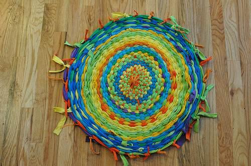 hulahop renkli halı