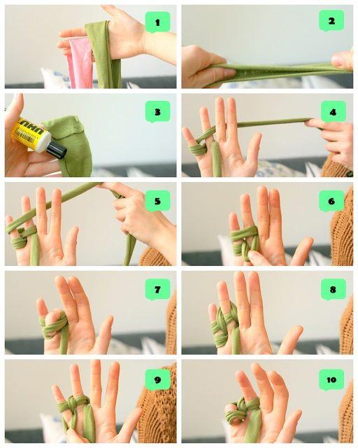 iki parmak ile örgü 1